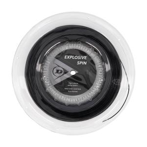 Monofilament String Dunlop Explosive Spin 1.25 200 m Reel  Black 10299199