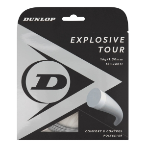 Monofilament String Dunlop Explosive Tour 1.30 12 m Set  Grey 10308263