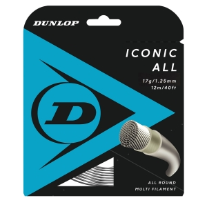 Multifilament String Dunlop Iconic All 1.25 Set 12 m  Natural 10303350