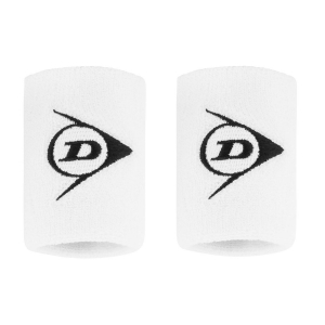 Muñequeras Tenis Dunlop Logo Munequeras  White 307381