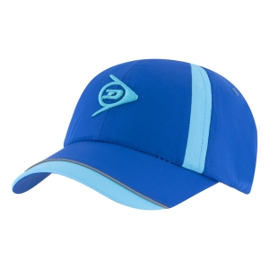 Tennis Hats and Visors Dunlop Performance Cap  Cobalt/Aqua 307375