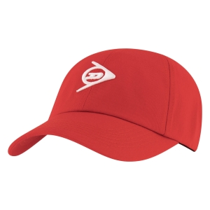 Tennis Hats and Visors Dunlop Promo Cap  Red 307374