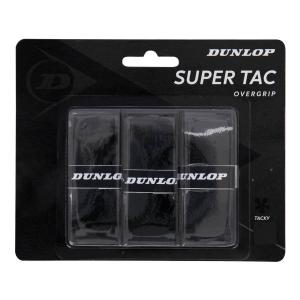 Overgrip Dunlop Super Tac x 3 Overgrip  Black 10298361