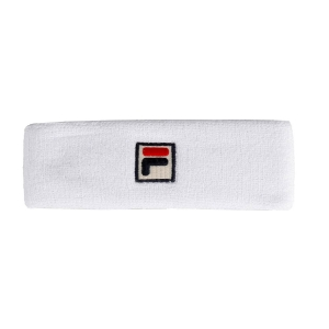 Tennis Headbands Fila Flexby Headband  White XS11TEU054001