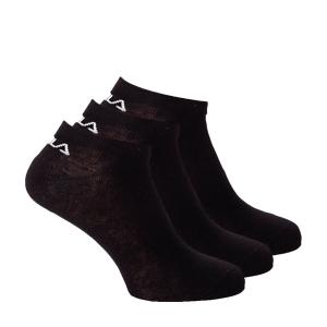 Tennis Socks Fila Kurz x 3 Socks  Black F9100200