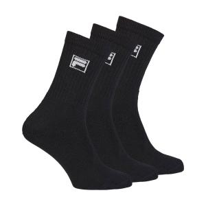 Tennis Socks Fila Lang x 3 Socks  Black F9000200