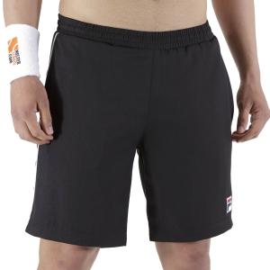 Pantalones Cortos Tenis Hombre Fila Leon 7in Shorts  Black FBM211005900