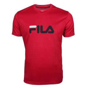 Polo e Maglie Tennis Fila Logo Maglietta Bambino  Fila Red FJL131020500