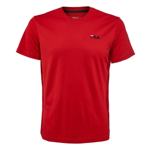 Polo e Maglie Tennis Fila Logo Small Maglietta Bambino  Red FJL141003500