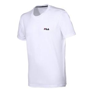 Polo e Maglie Tennis Fila Logo Small Maglietta Bambino  White FJL141003001