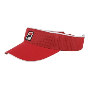 Cappelli e Visiere Tennis Fila Vuckonic Visiera  Red XS12TEU001500