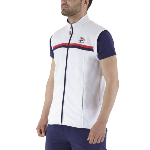 Men's Tennis Jackets Fila Noah Vest  White FBM211002001