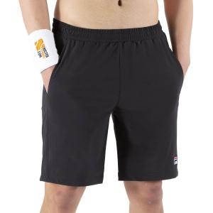 Pantaloncini Tennis Uomo Fila Santana 9in Pantaloncini  Black FBM142005900