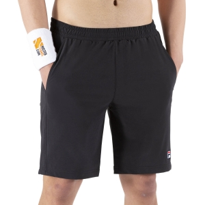 Pantalones Cortos Tenis Hombre Fila Santana 9in Shorts  Black FBM142005900