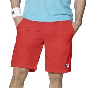 Pantalones Cortos Tenis Hombre Fila Santana 9in Shorts  Red FBM142005500