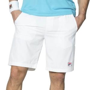 Pantalones Cortos Tenis Hombre Fila Santana 9in Shorts  White FBM142005001
