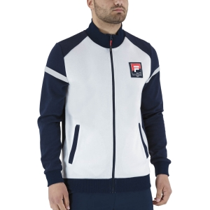 Men's Tennis Jackets Fila Smudo Jacket  Peacoat Blue XFM211038100