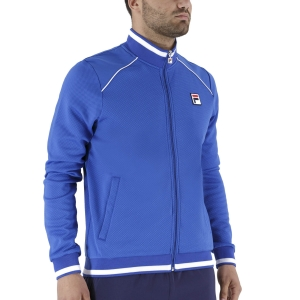 Men's Tennis Jackets Fila Spike Jacket  Blue Iolite FBM2110201400