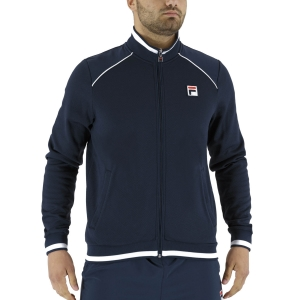 Men's Tennis Jackets Fila Spike Jacket  Peacoat Blue FBM211020100
