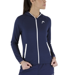 Women's Tennis Shirts and Hoodies Head Breaker Hoodie  Dark Blue 814631DB