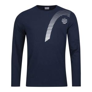 Tennis Polo and Shirts Head Club 21 Shirt Boy  Dark Blue 816701DB