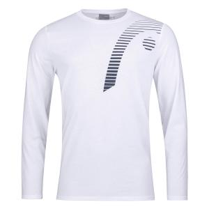 Tennis Polo and Shirts Head Club 21 Shirt Boy  White 816701WH