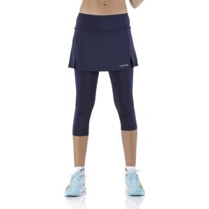 Skirts, Shorts & Skorts Head Club 3/4 Tights Skirt  Dark Blue 814409DB