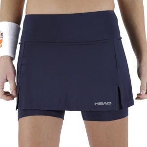 Skirts, Shorts & Skorts Head Club Basic Skirt  Dark Blue 814399DB