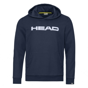 Boy Tracksuit and Hoodie Head Club Byron Hoodie Junior  Dark Blue/White 816399DBWH