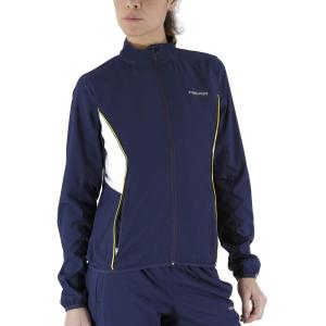 Tennis Women's Jackets Head Club Jacket  Dark Blue 814309DB