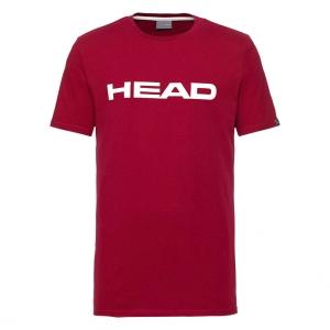 Tennis Polo and Shirts Head Club Ivan TShirt Boy  Red/White 816700RDWH