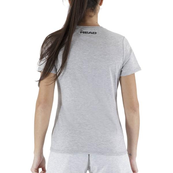 Head Club Lara T-Shirt - Grey Melange