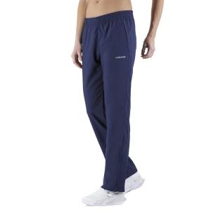 Women's Tennis Pants and Tights Head Club Pants  Dark Blue 814329DB