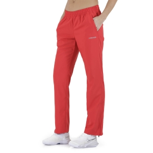 Women's Tennis Pants and Tights Head Club Pants  Red 814329RD
