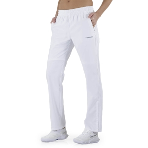 Women's Tennis Pants and Tights Head Club Pants  White 814329WH