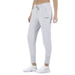Women's Tennis Pants and Tights Head Club Rosie Pants  Grey Melange/Black 814509GMBK