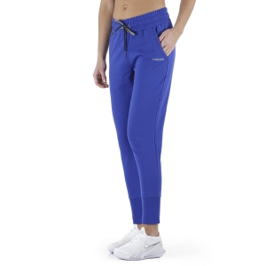 Women's Tennis Pants and Tights Head Club Rosie Pants  Royal Blue/Red 814509RORD