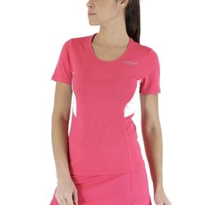 Camisetas y Polos de Tenis Mujer Head Club Tech Camiseta  Magenta 814349MA