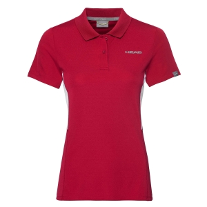 Top and Shirts Girl Head Club Tech Polo Girl  Red 816449RD
