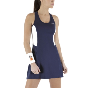 Vestido de Tenis Head Club Vestido  Dark Blue 814419DB