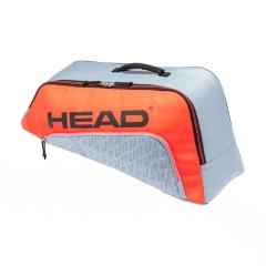 Head Combi Rebel Bag Junior - Grey/Orange