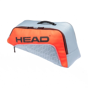 Junior Tennis Bag Head Combi Rebel Bag Junior  Grey/Orange 283481 GROR