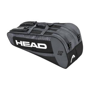 Tennis Bag Head Core x 6 Combi Bag  Black/White 283401 BKWH