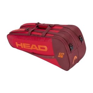 Tennis Bag Head Core x 6 Combi Bag  Red 283401 RDRD
