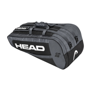 Tennis Bag Head Core x 9 Supercombi Bag  Black/White 283391 BKWH