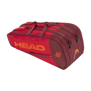 Tennis Bag Head Core x 9 Supercombi Bag  Red 283391 RDRD