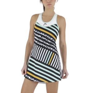 Vestito da Tennis Head Diana Vestito  White/Print Vision 814591WHXW
