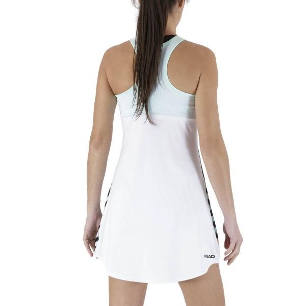 Head Diana Dress - White/Print Vision