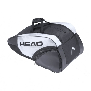 Tennis Bag Head Djokovic x 9 Supercombi Bag  White/Black 283101 WHBK