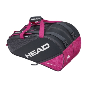 Padel Bag Head Elite Supercombi Bag  Anthracite/Pink 283980 ANPK
